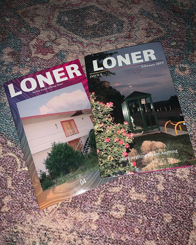 Hey everyone, back from the dead to give big thanks to @eat_more_spiders and everyone at @loner_skateboarding for the double cover feature on issues 2 & 4. Real rad stuff they're doing over there so go check it out.