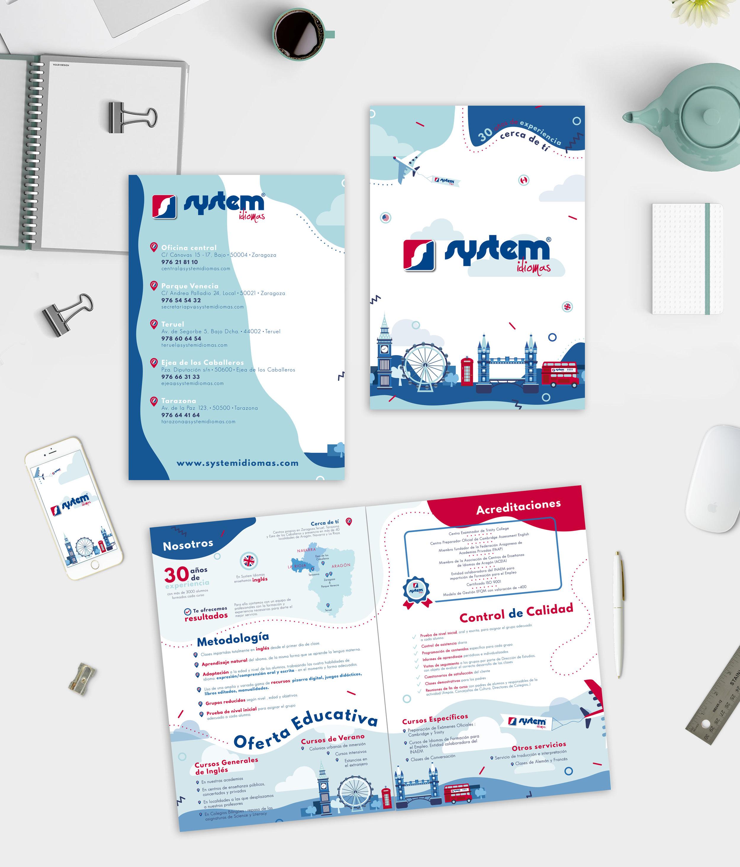 System Idiomas folleto_Holyoke Paper Co.