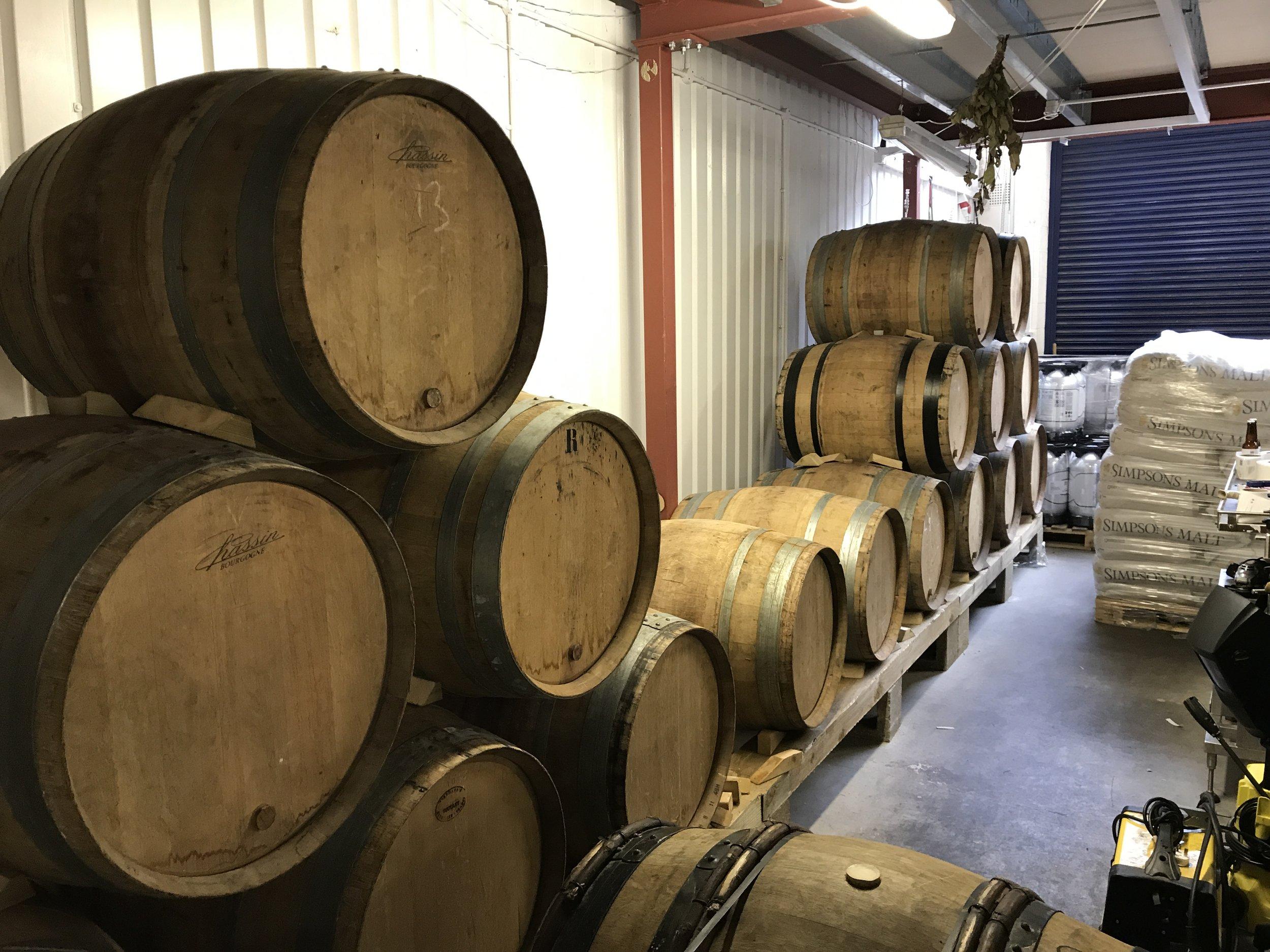 Barrels at Poyer Street
