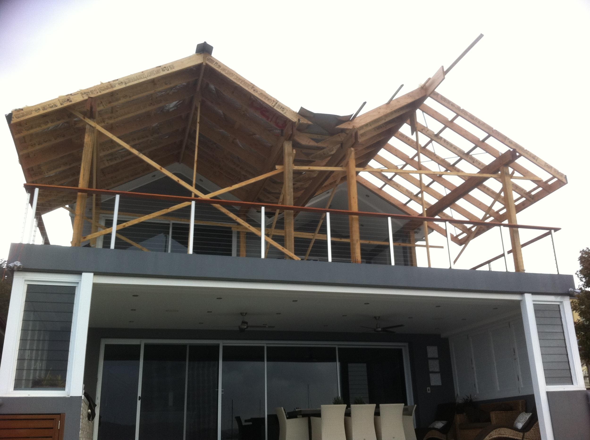 Saratoga: Upper level extension