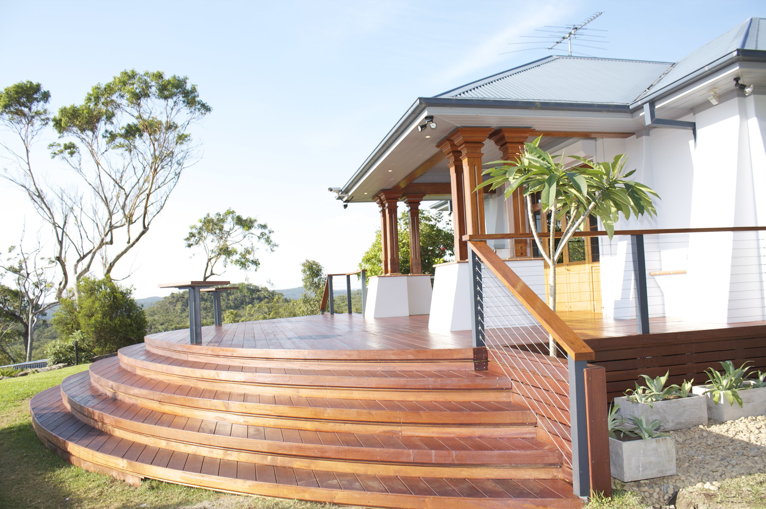 Central Coast deck