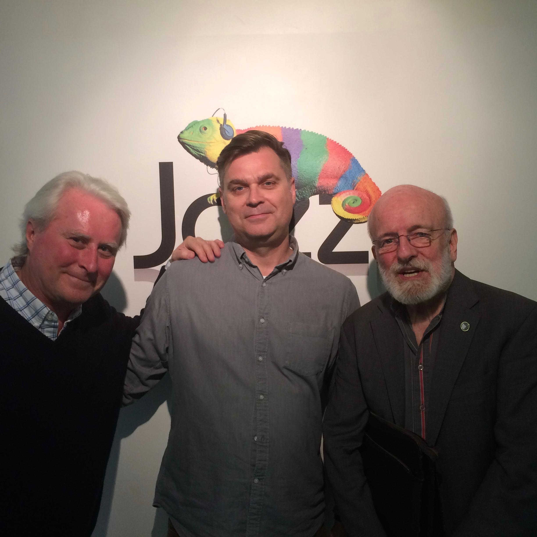 Left to right: Hummel (Director, Ubuntu Management Group), Philips (Music Director, Jazz FM), Richardson (bassist).