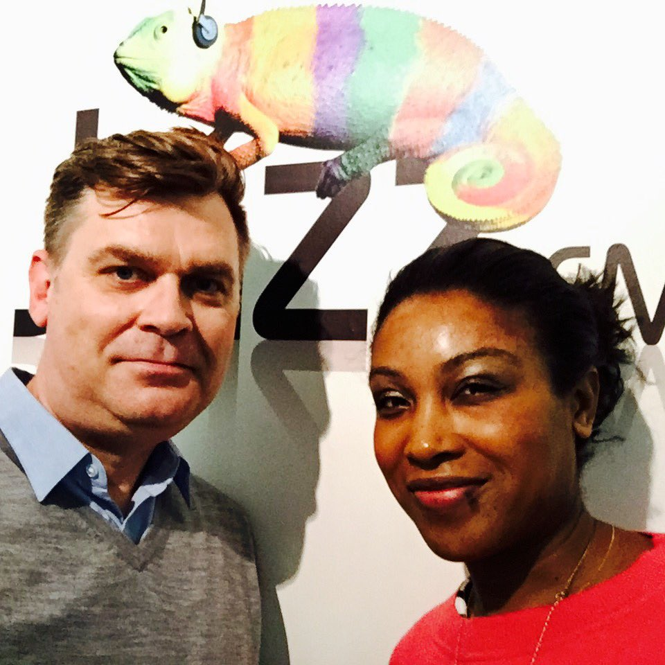 Chris Philips and Camilla George, talking about her debut release on Ubuntu Music