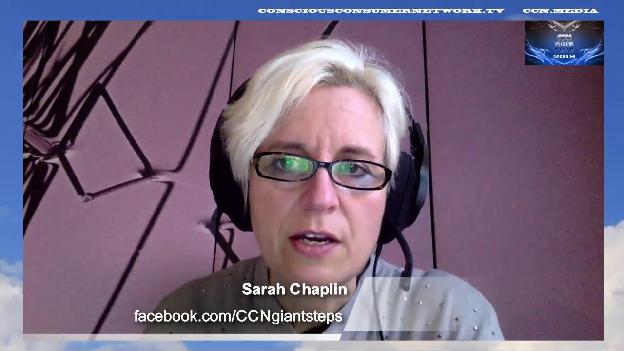 Presenter Sarah Chaplin