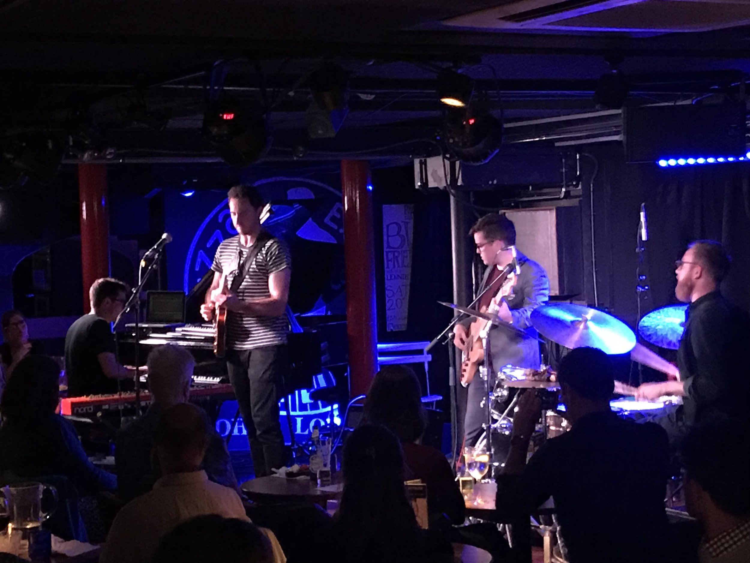 Flying Machines, at Pizza Express, for their album launch show.