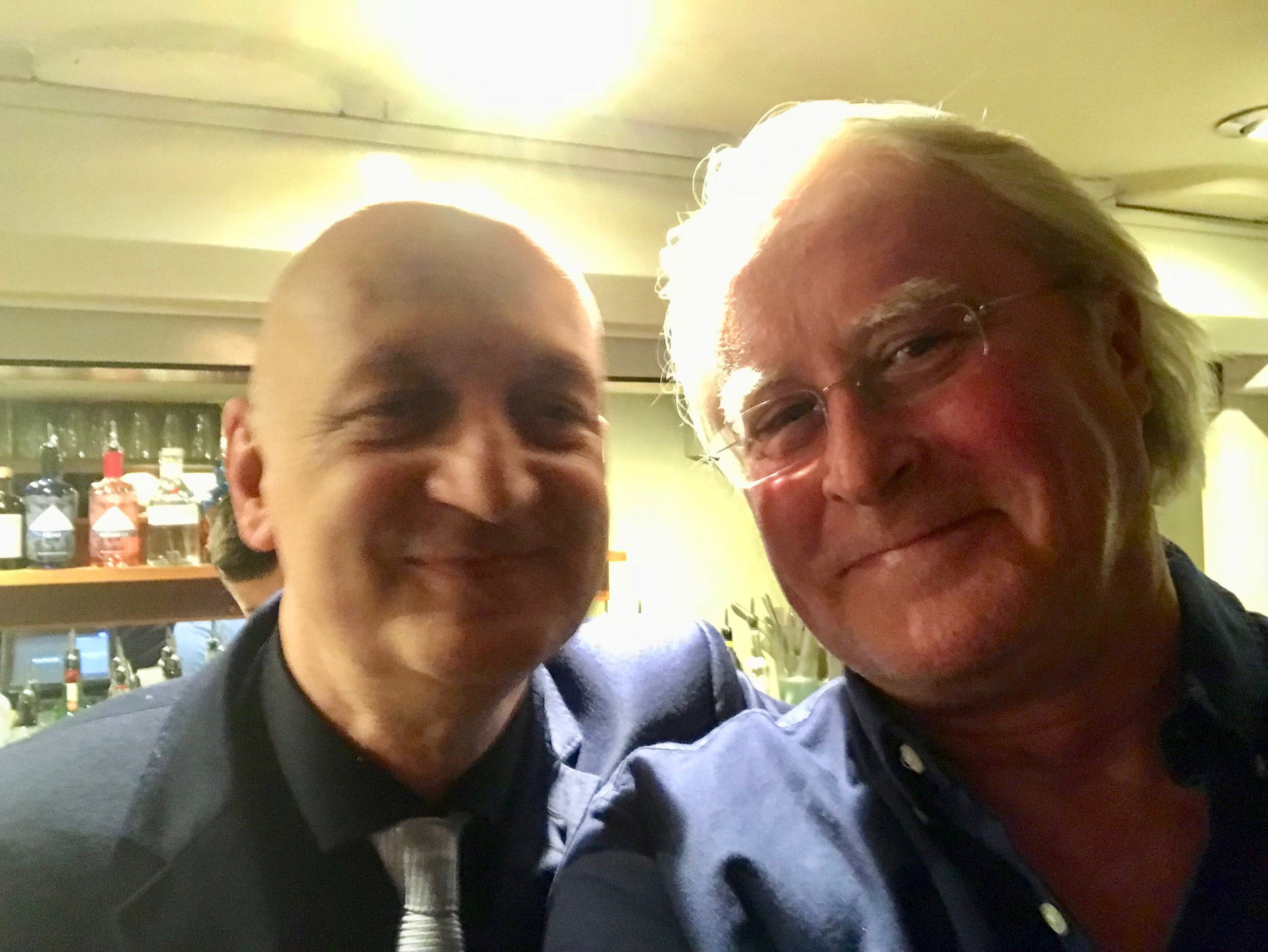 Spice of Life's man, Paul Pace, celebrating 20 years at this great jazz venue, with Martin Hummel.