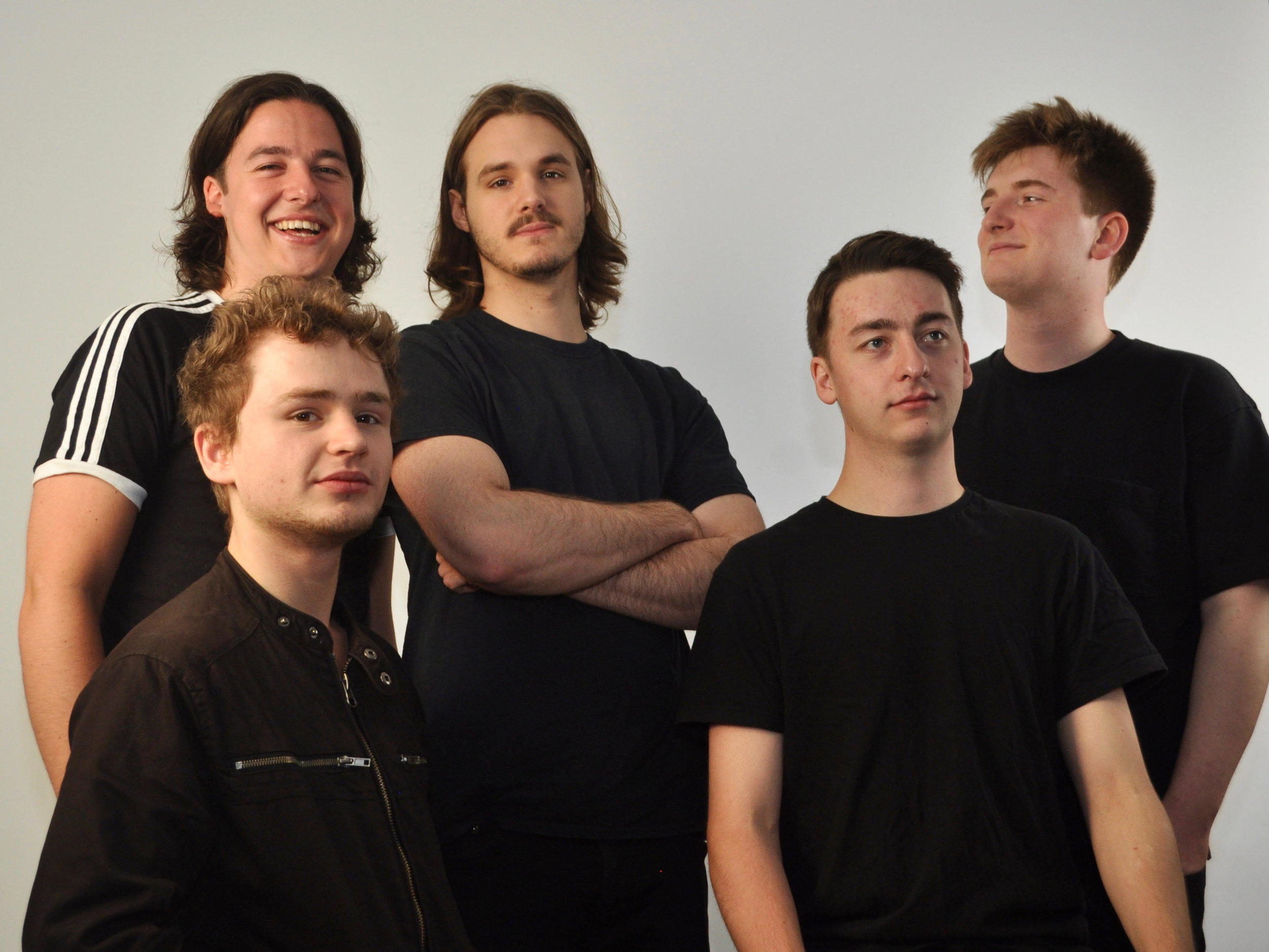 Left to Right: Rory Ingham, Toby Comeau, Joe Lee, Dominic Ingham, Jonny Mansfield
