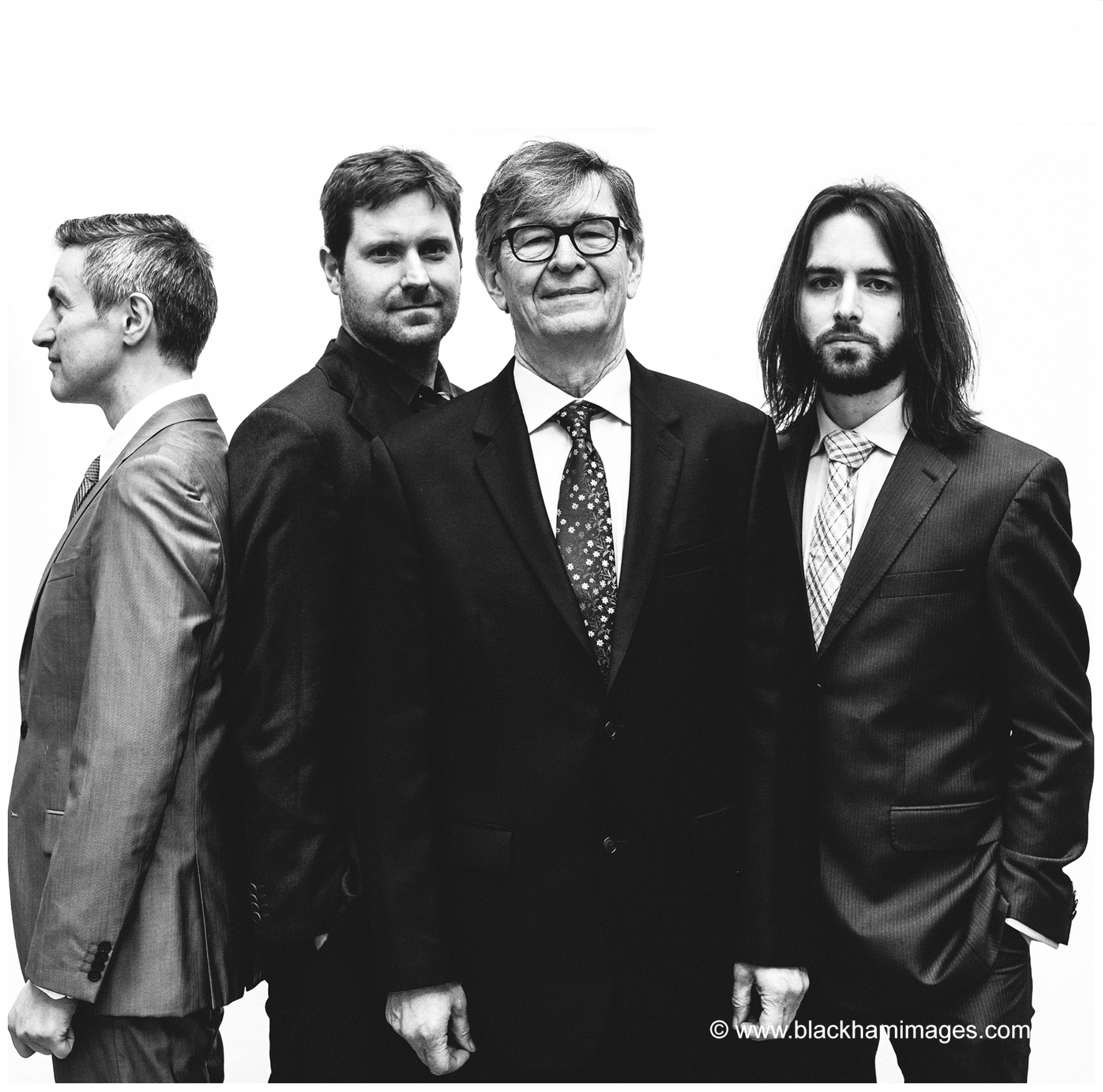 Left to Right: Dave O'Higgins, Wesley Gibbens, Darius Brubeck, Matt Ridley.