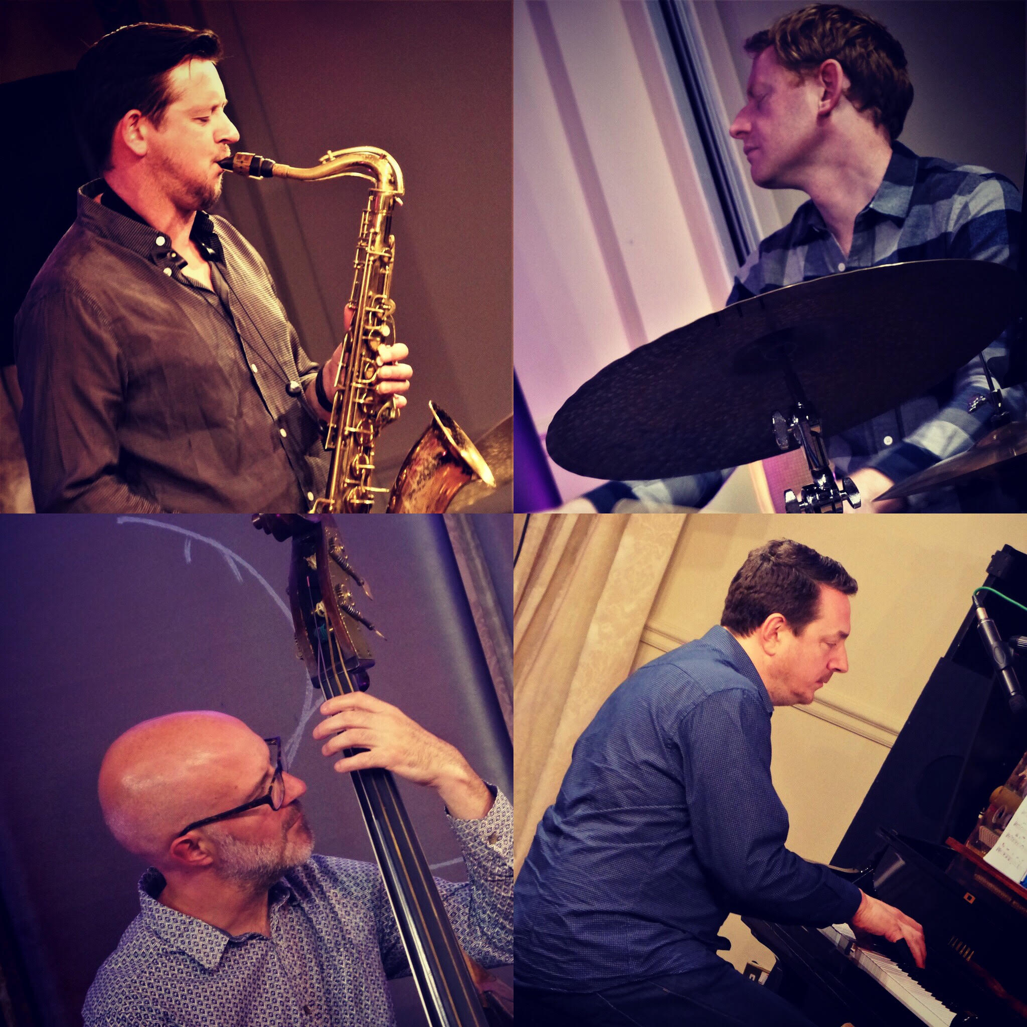 Clockwise, from top left: Paul Booth, Andrew Bain, Steve Hamilton, Dave Whitford.