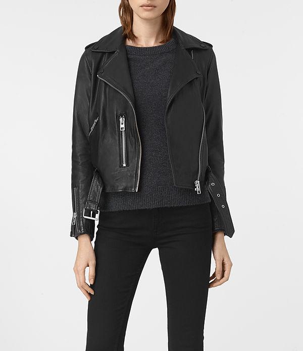 All saints - Balfern Leather Biker Jacket