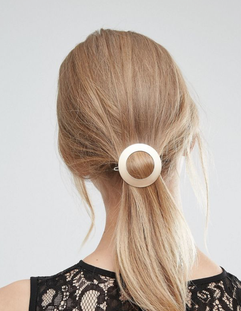 Orelia Circle Hair Clip
