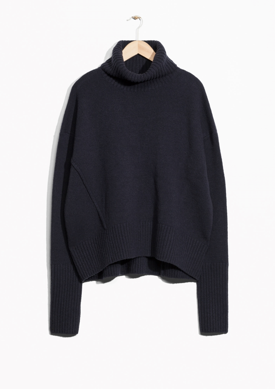 High Neck Sweater - &OtherStories