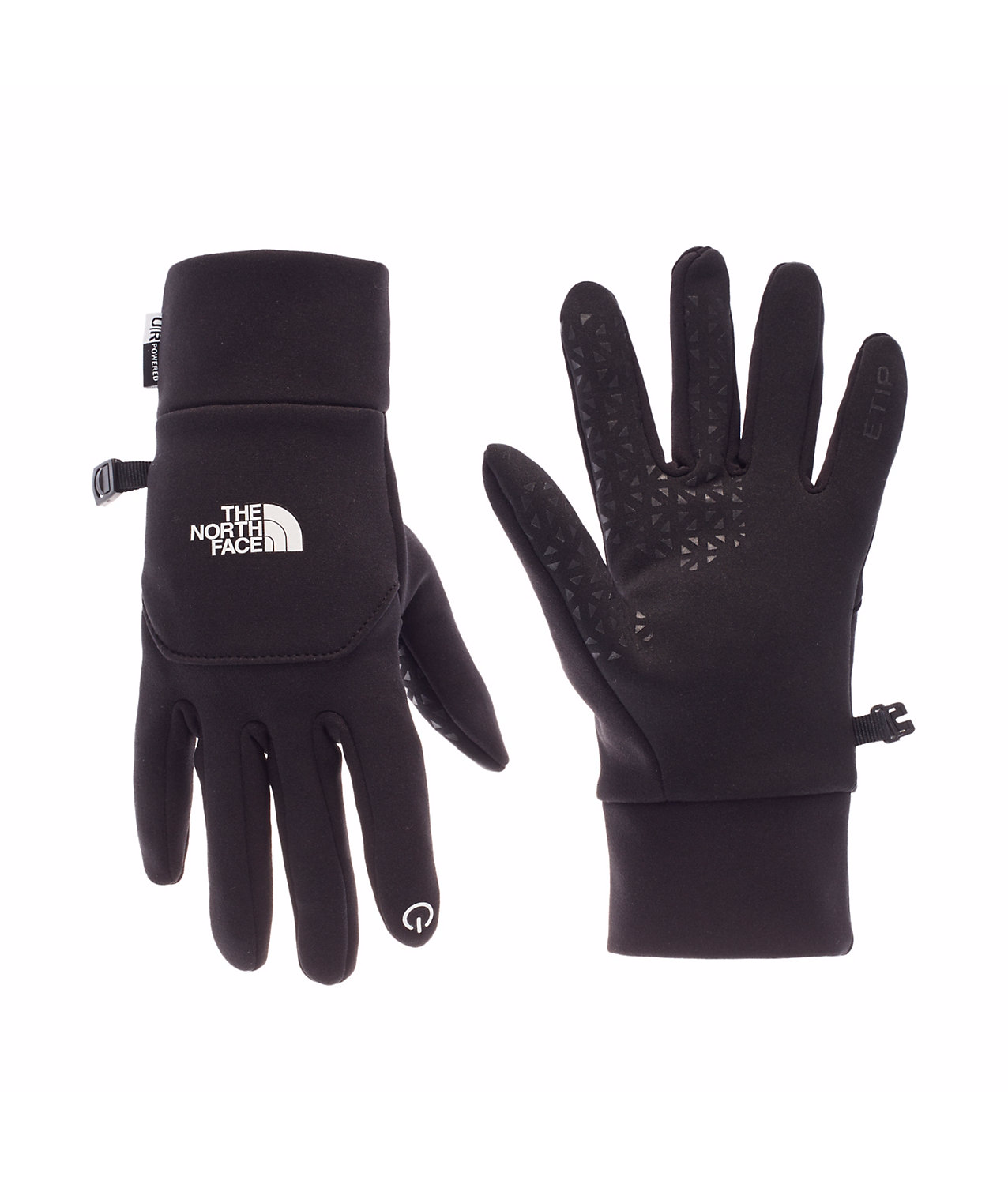NORTH FACE - ETIP GLOVES, BLACK