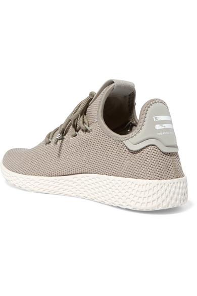 adidas Originals  - Pharrell Williams Tennis Hu Stretch-knit Sneakers