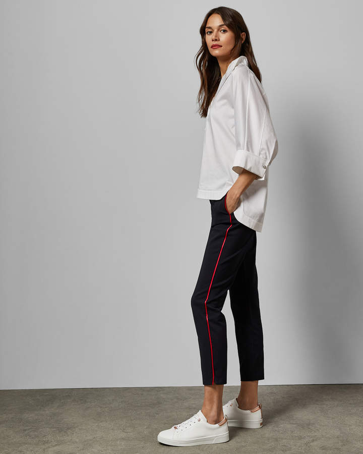 Ted Baker RAYYAA Piping detail skinny trousers