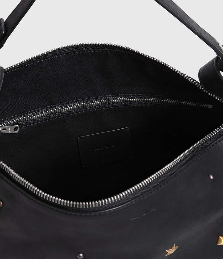 AllSaints Mazzy Small Leather Backpack