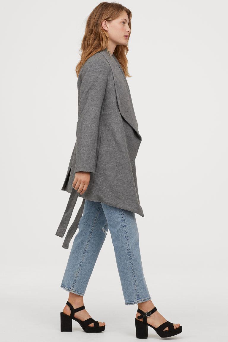 H&M Short Grey Coat