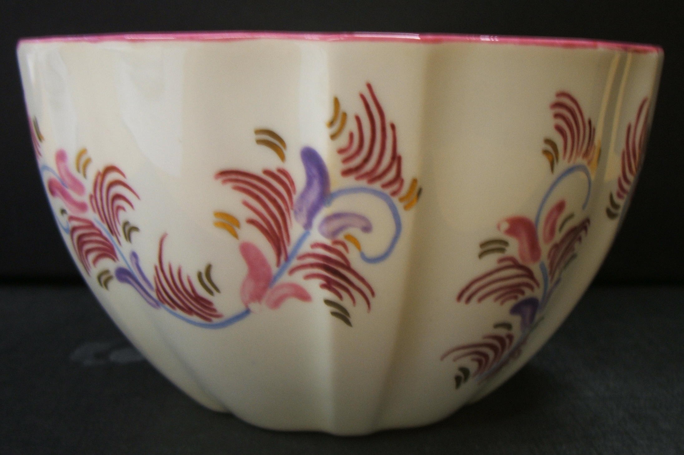 Amateur Painted Maroon Pink Blue and Gold Swirls (3).jpg