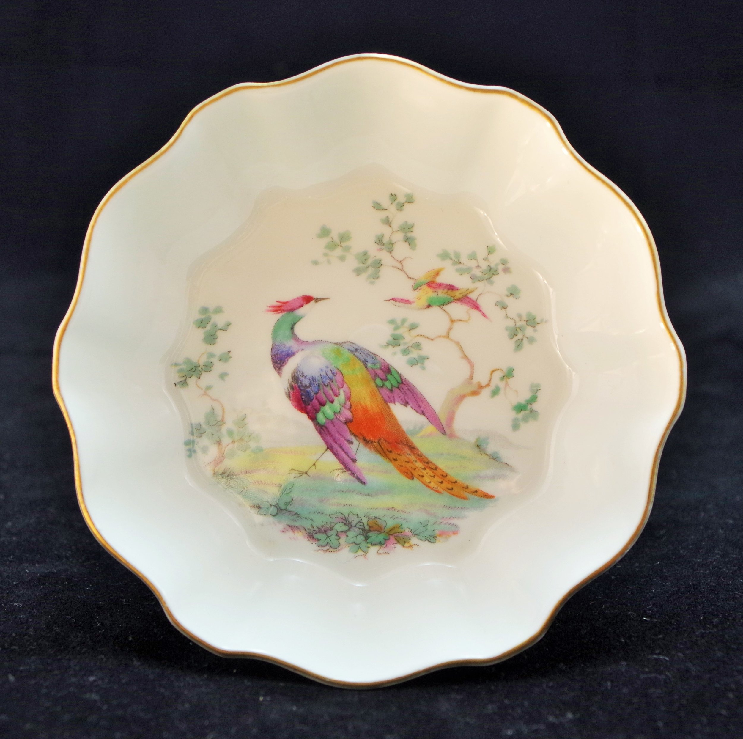 royal-crown-derby-surrey-butter-paradise-bird-A420