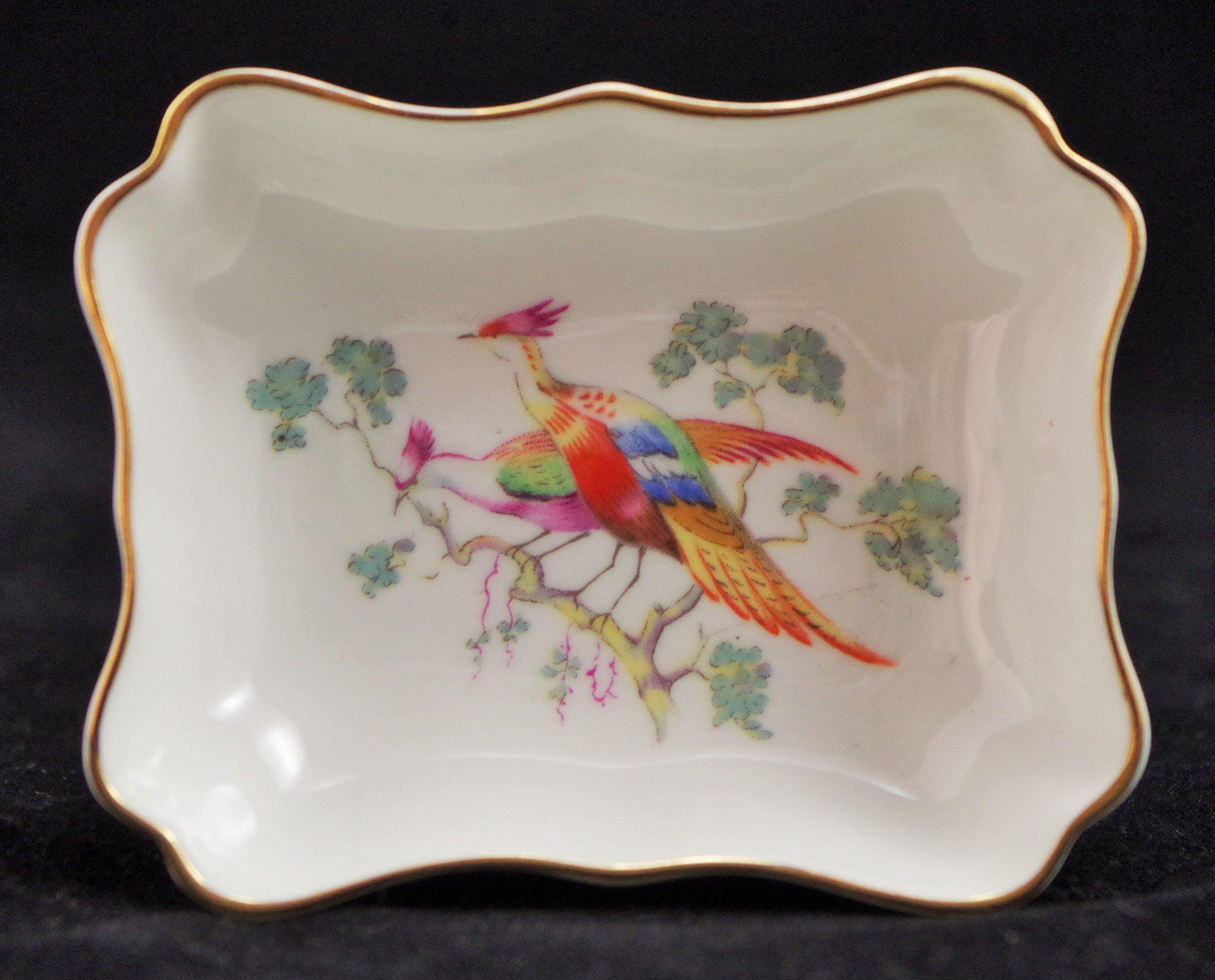 royal-crown-derby-tray-1800-paradise-bird-A420