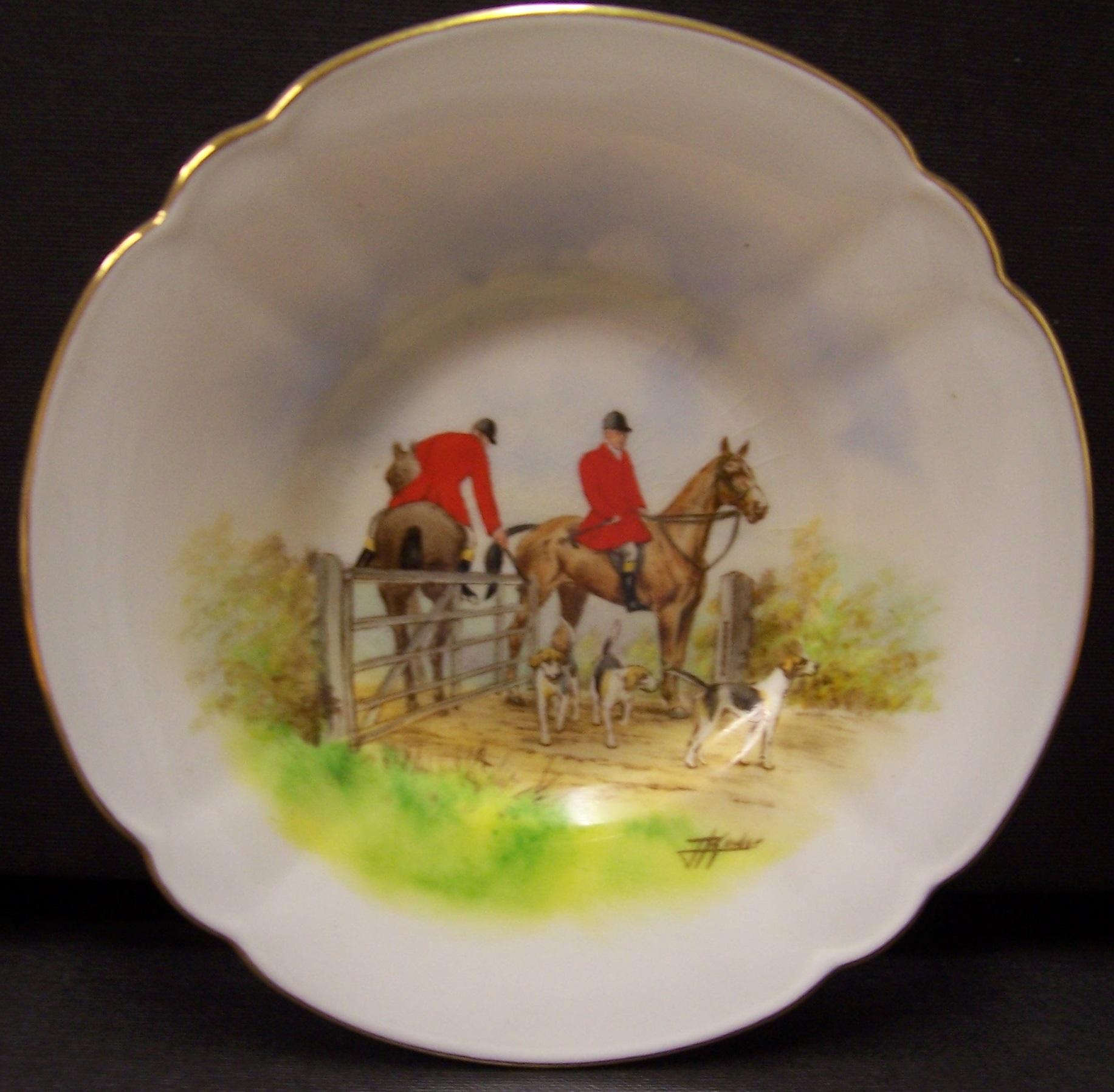 royal-crown-derby-chelsea-saucer-hunting-scene-j-kinder
