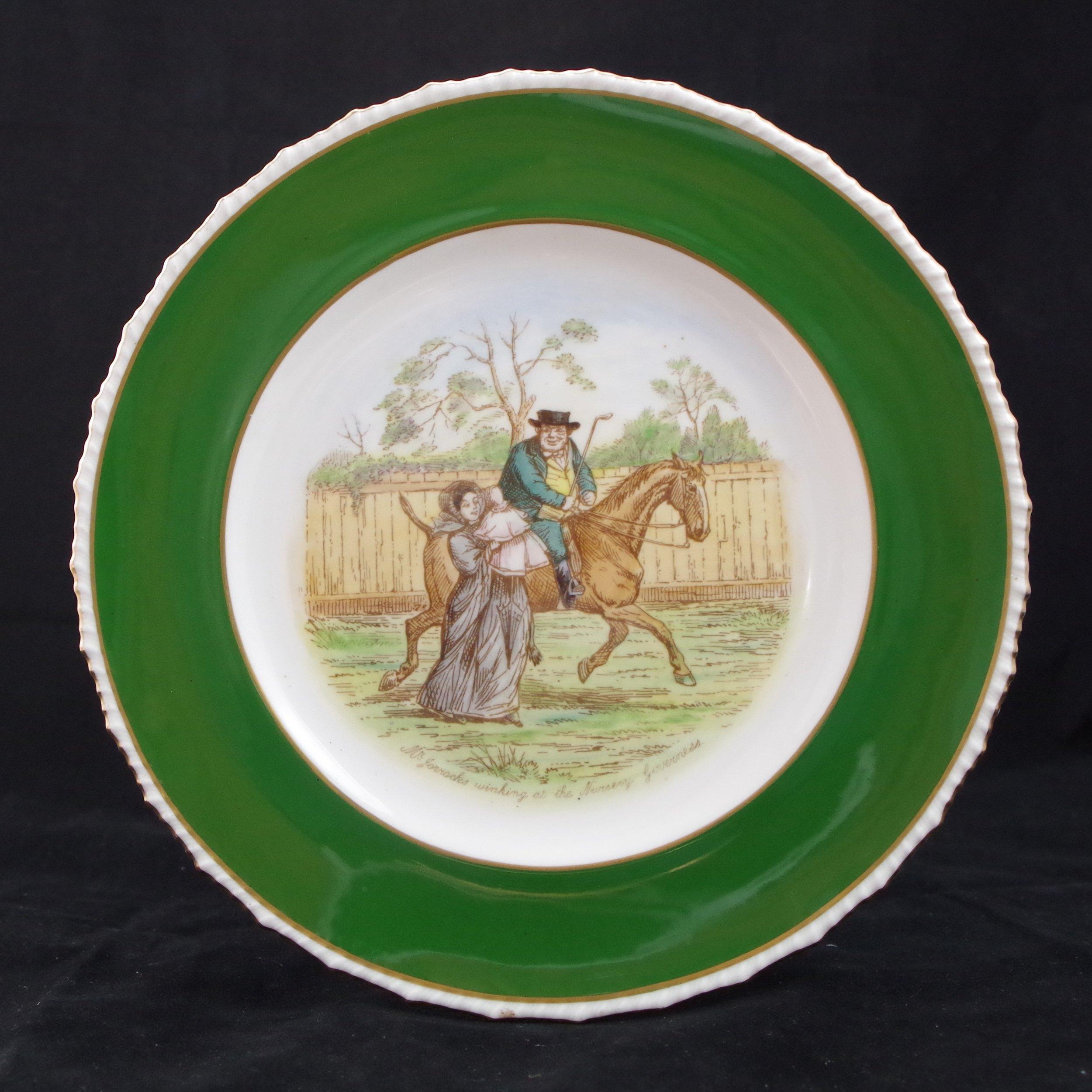 royal-crown-derby-stanhope-siam-green-ground-jorrocks-4