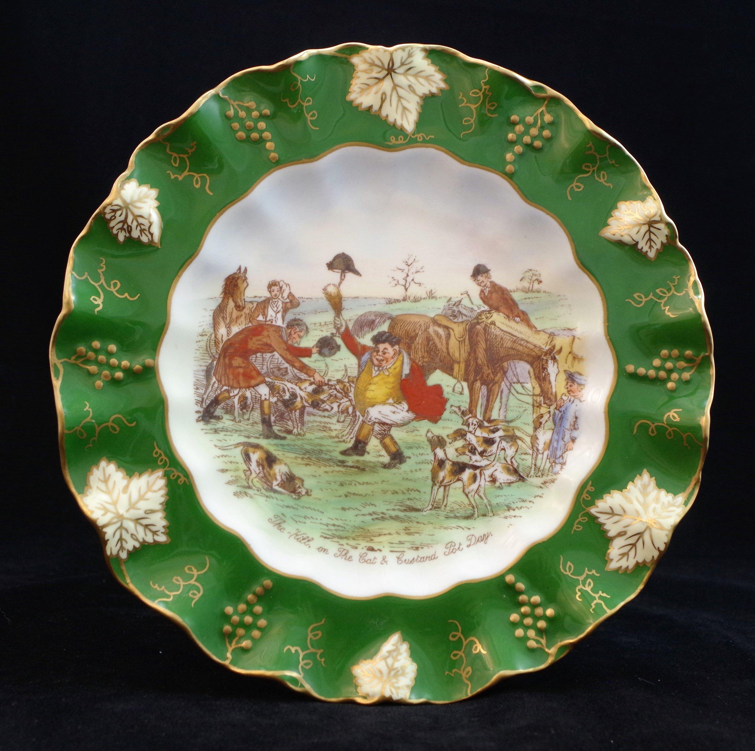 royal-crown-derby-vine-siam-green-ground-jorrocks-5