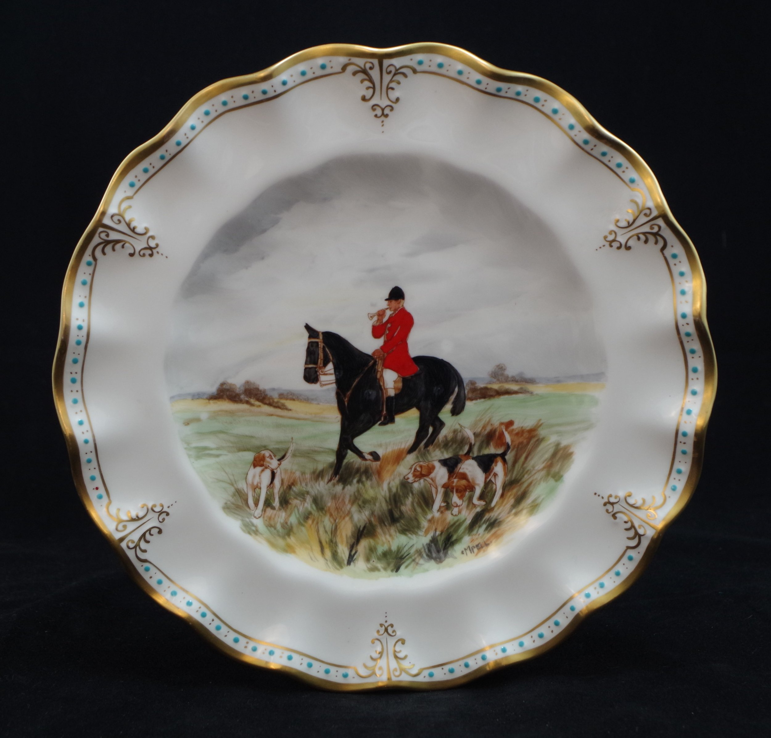 royal-crown-derby-royal-hand-painted-hunting-scenes-A1131