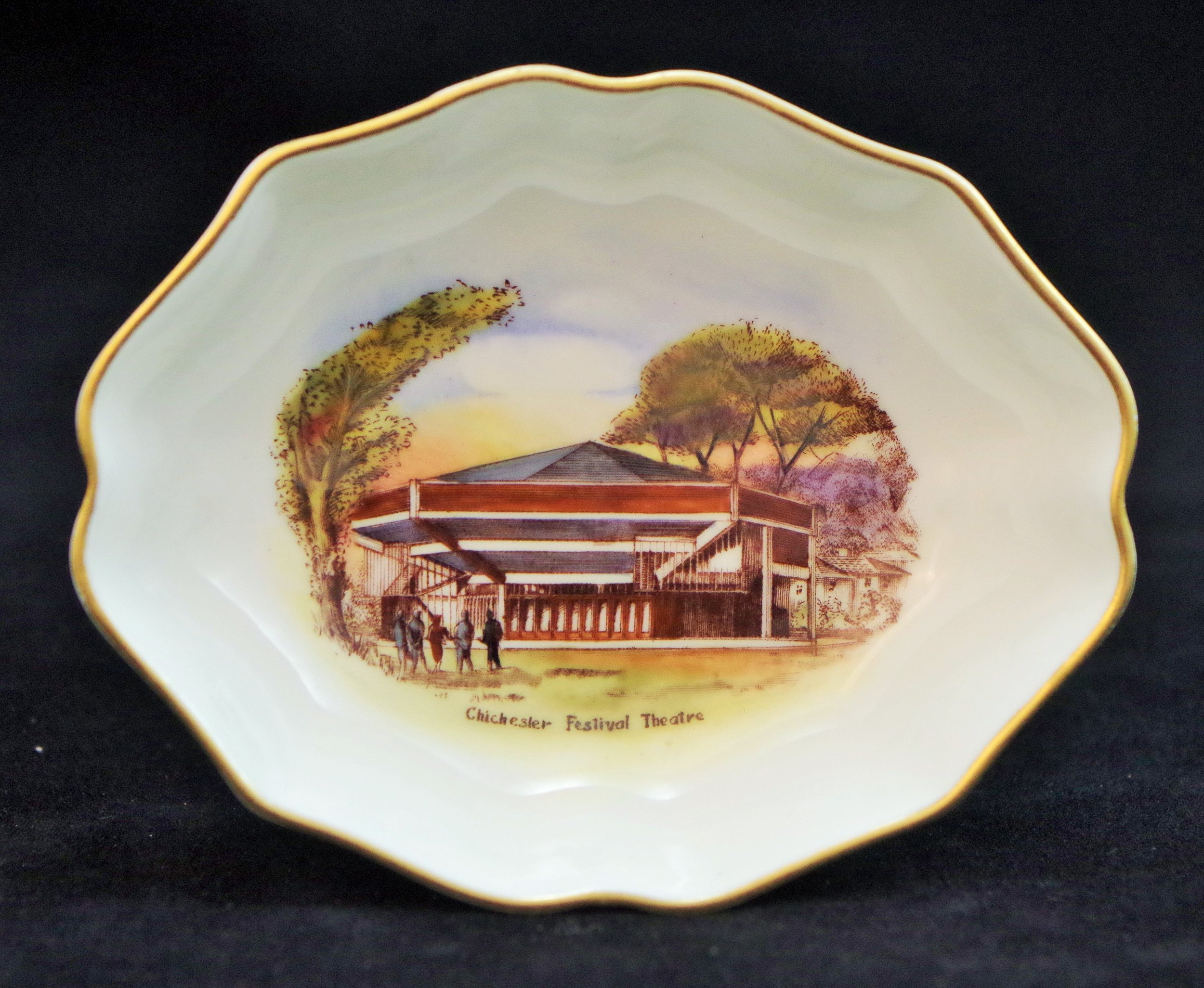 royal-crown-derby-1802-shape-oval-tray-chichester-festival-theatre