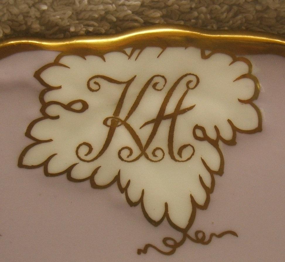 royal-crown-derby-vine-heliotrope-Kamal-Adham-A812-monogram-close-up