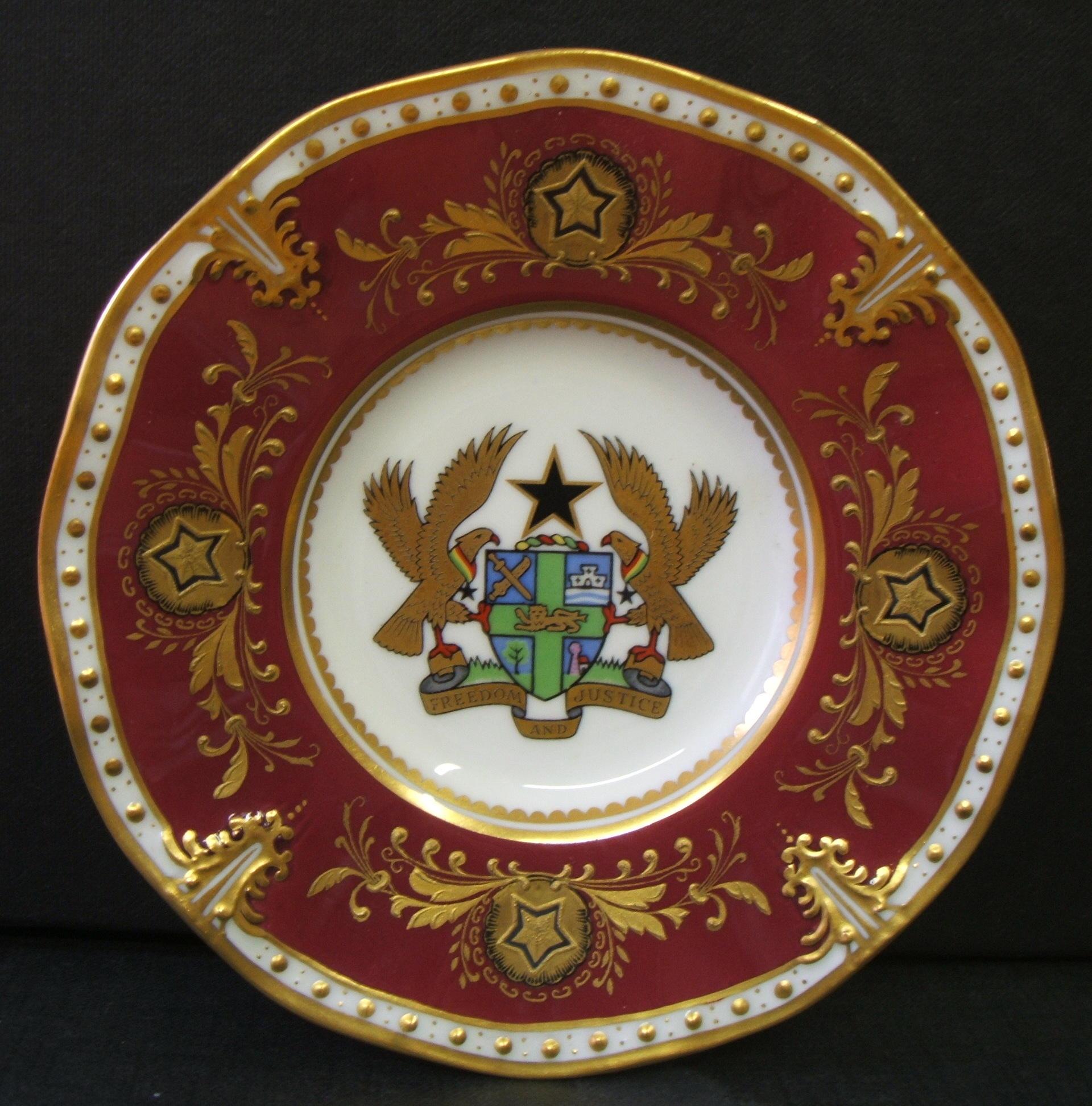 royal-crown-derby-royal-maroon-ground-saucer-ghana