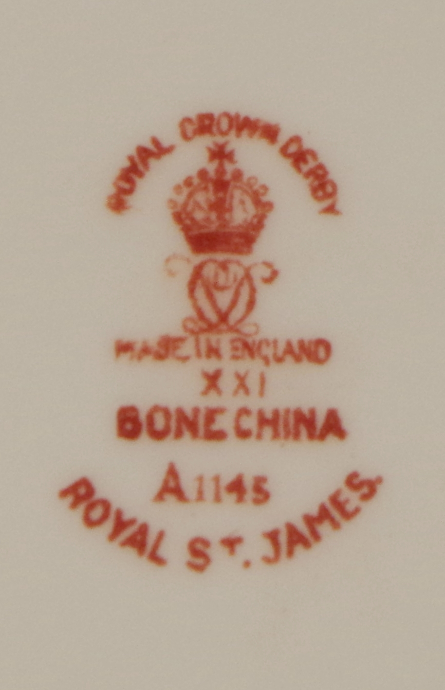 royal-crown-derby-royal-st-james-Abdullah Al-Mubarak Al-Sabah-A1145-mark