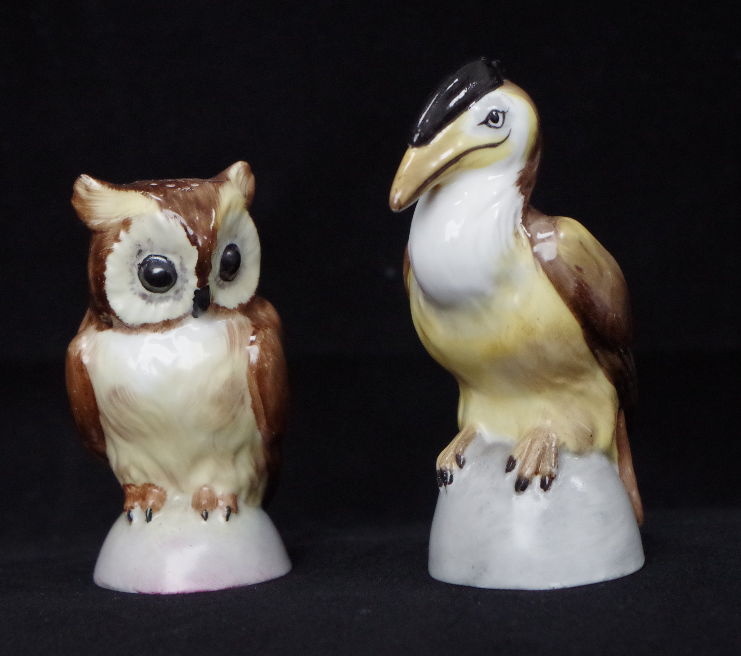 royal-crown-derby-owl-and-hornbill-salt-and-pepper