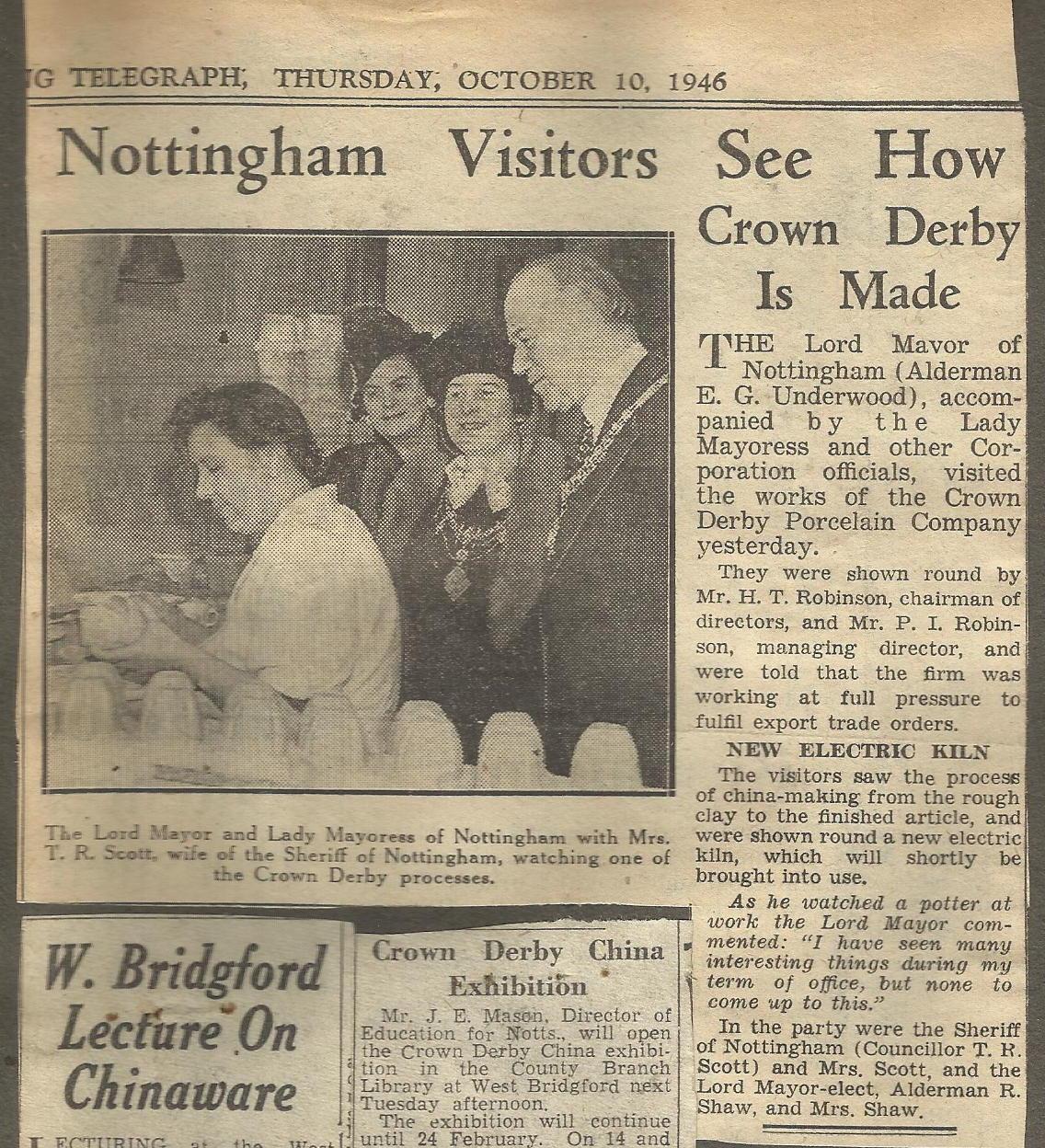 royal-crown-derby-mayor-of-nottingham-visit-1946