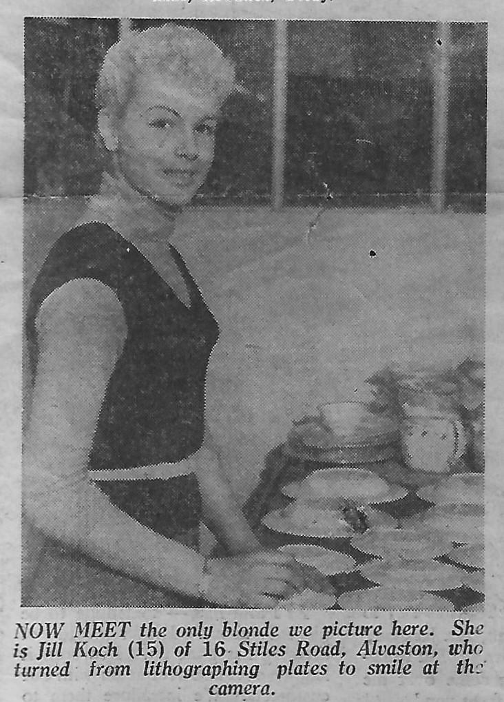 Jill Koch - Lithographer