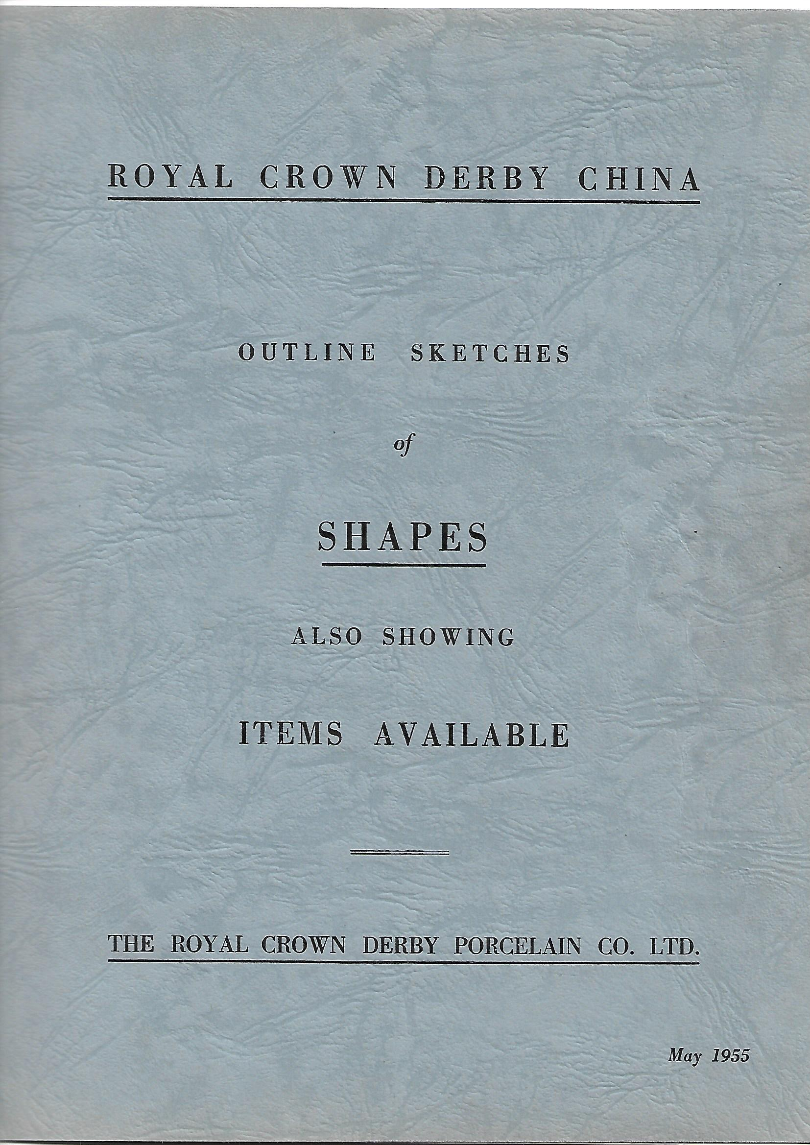 royal-crown-derby-outline-sketches-of-shapes-1955-cover