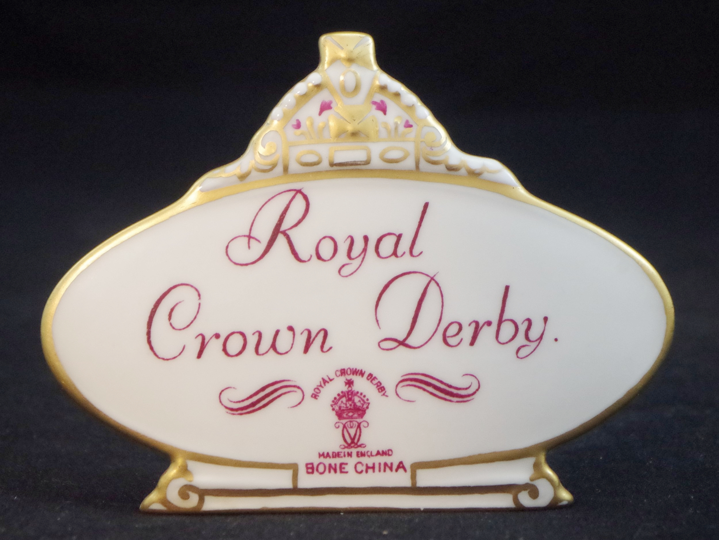 royal-crown-derby-retailer's-plaque