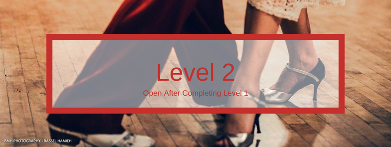 These 4-week course will focus on more advanced fundamentals of social tango. We will take a deeper dive into one concept over each 4 week session. Each class is 1 hour.  You must complete both Level 1a and 1b, in any order, before moving to Level 2. Level  2.1-2.8 are rotating sessions that are complementary to one another and can be taken in any order, but all must be completed before moving to Level 3.