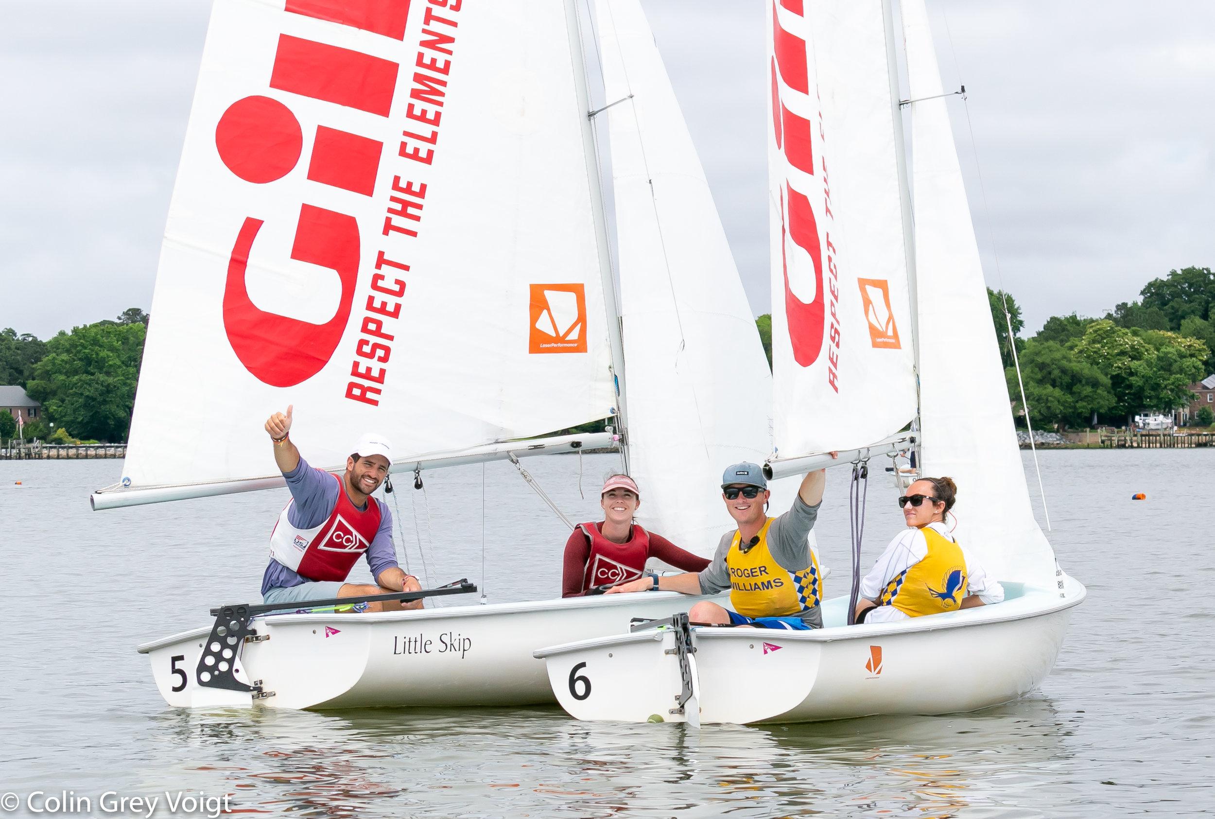2018 College Sailing Nationals.