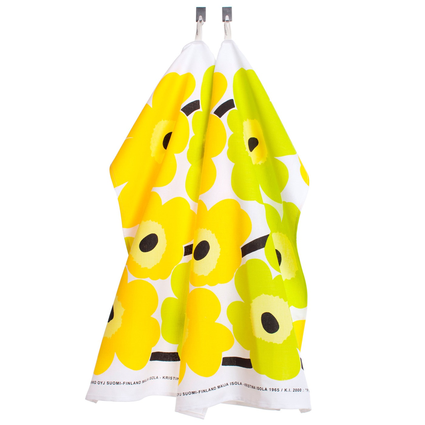 Unikko Set Of Two Tea Towels