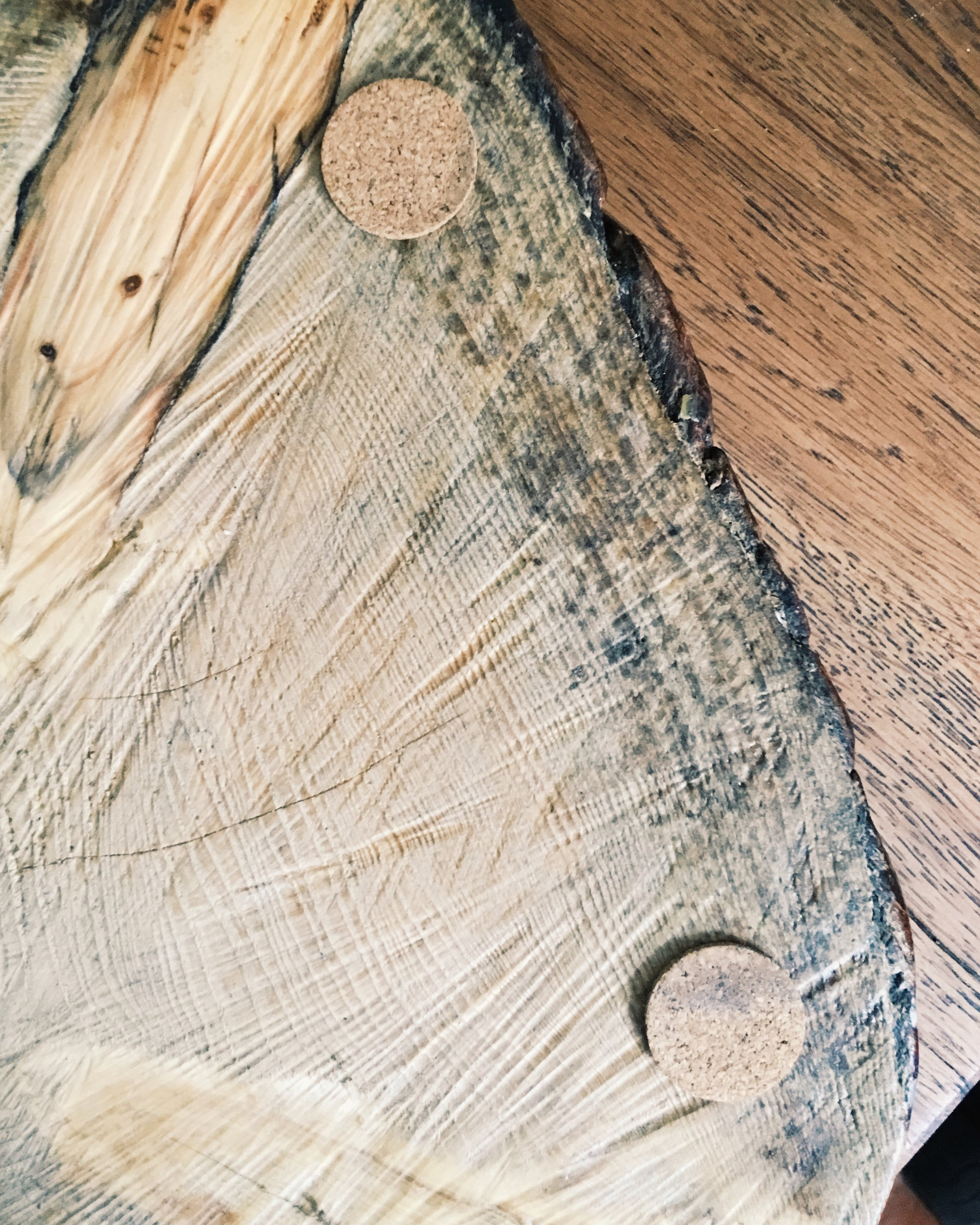 How To Create This Rustic Tree Trunk Chopping Board Melanie Lissack Interiors