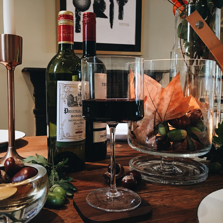 The OTIS red wine glass range by LSA International