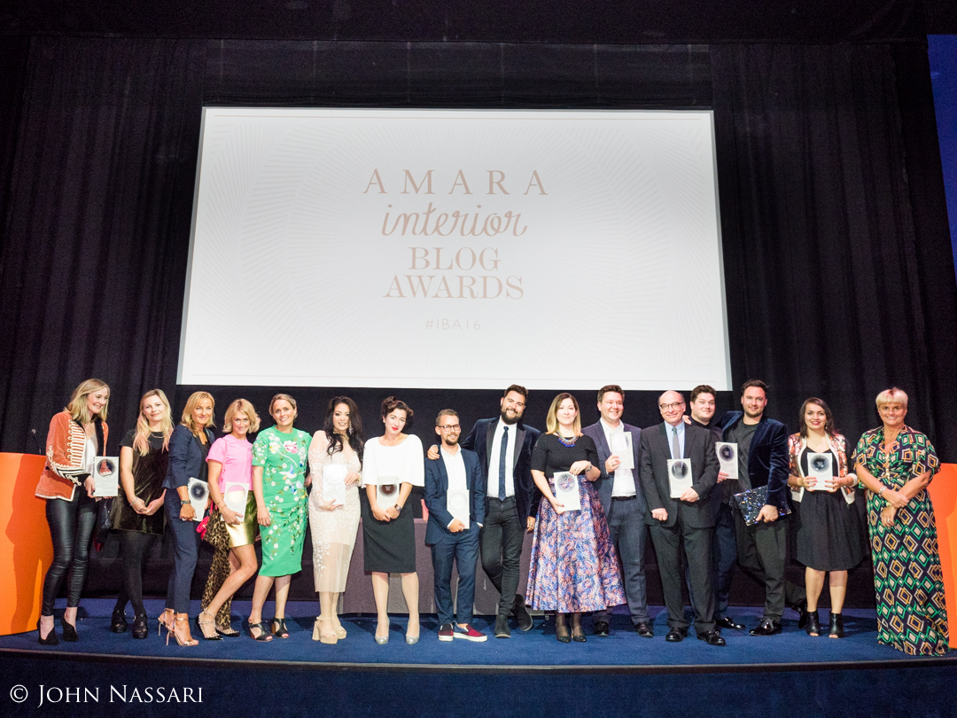 All the  winners  onstage at the end of the ceremony, with Amara's Sam Hood. Photo by John Nassari.