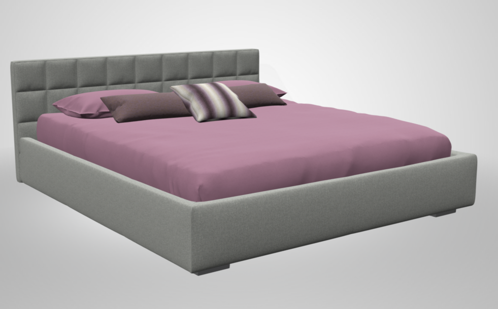 A 3D image of my chosen bed, courtesy of Homeplaneur.com