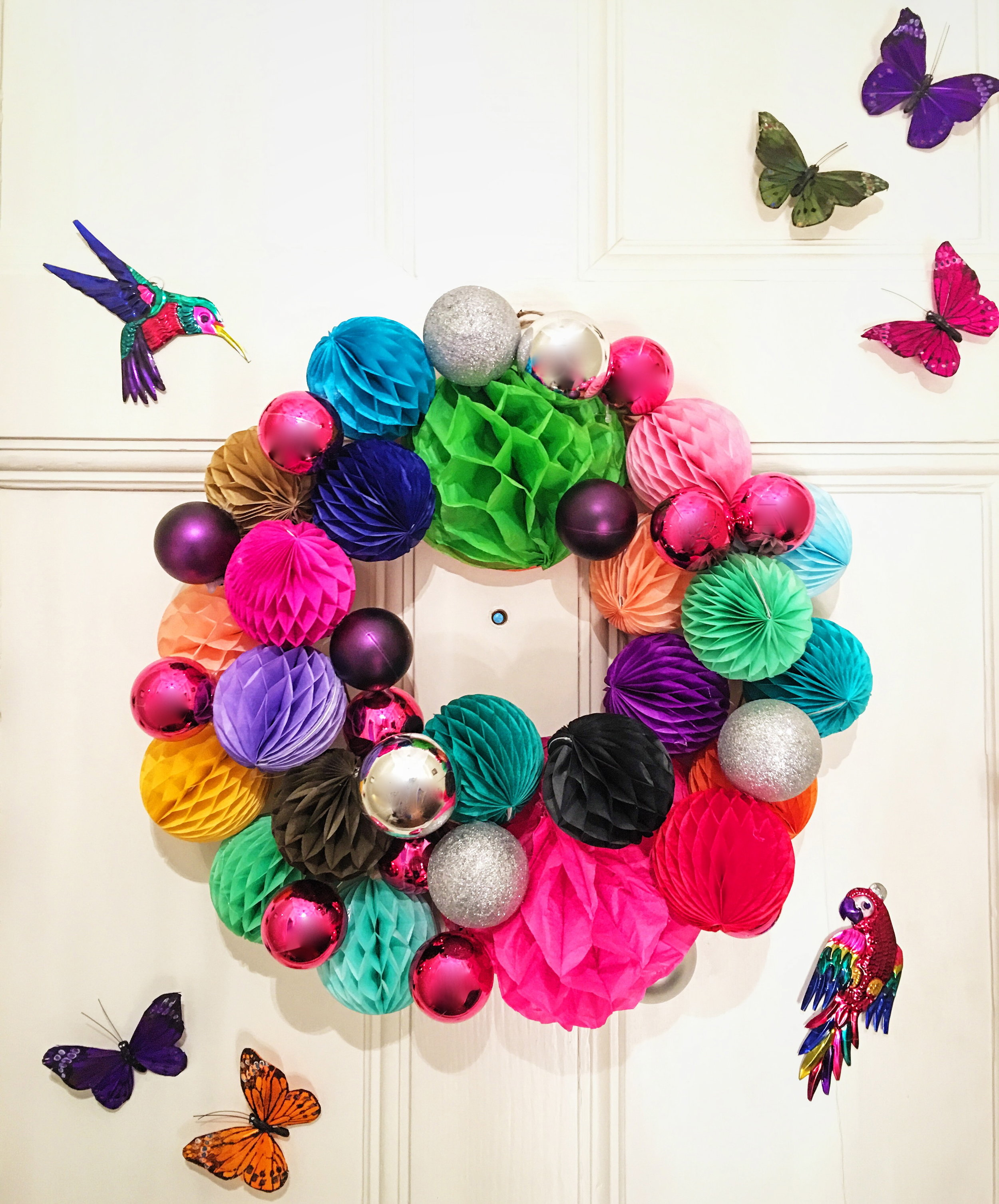 These super cool butterflies and tin birds are from  Pom Pom & Twiddle