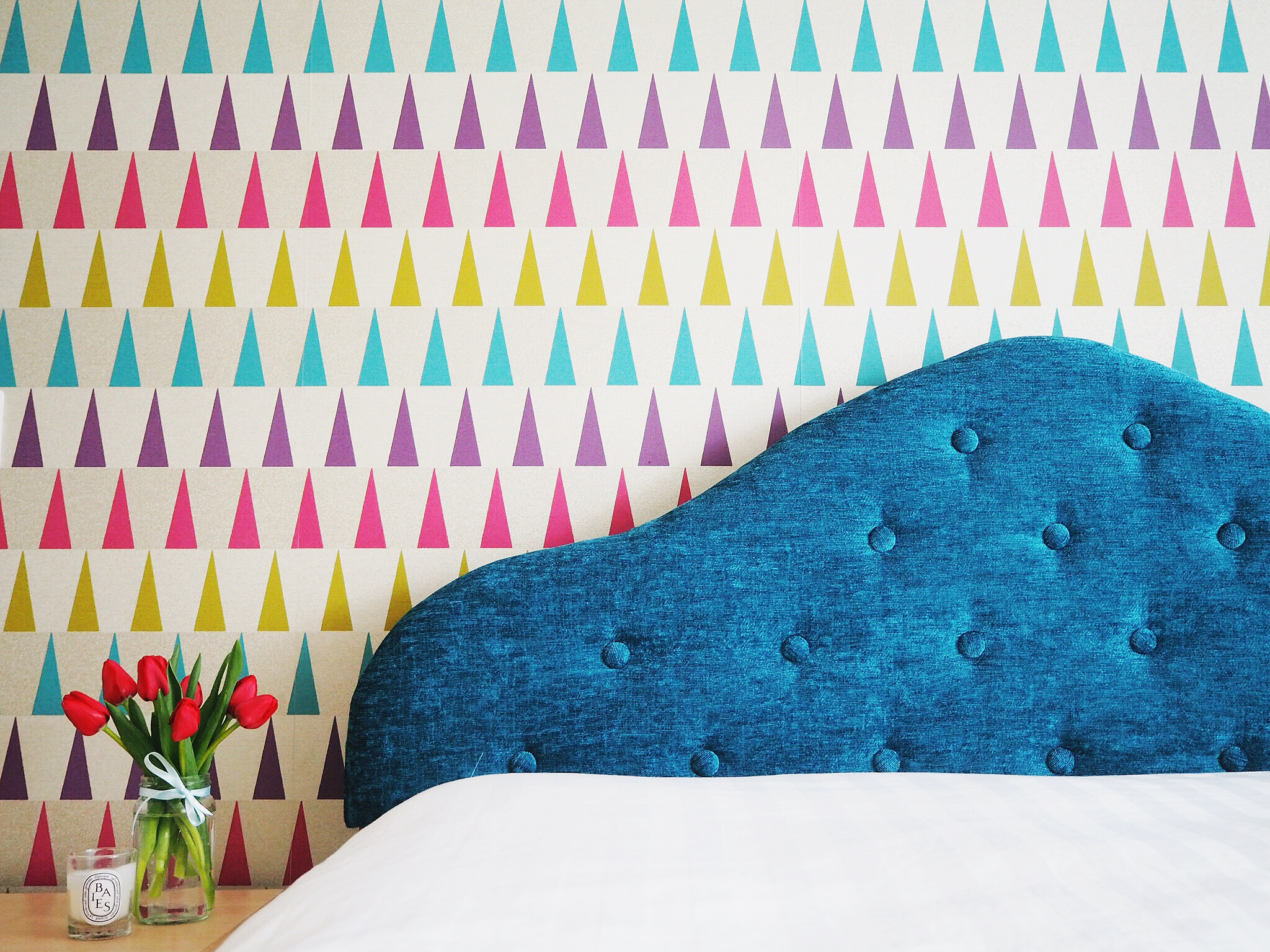 How To Reupholster A Headboard Create Tufted Effect With