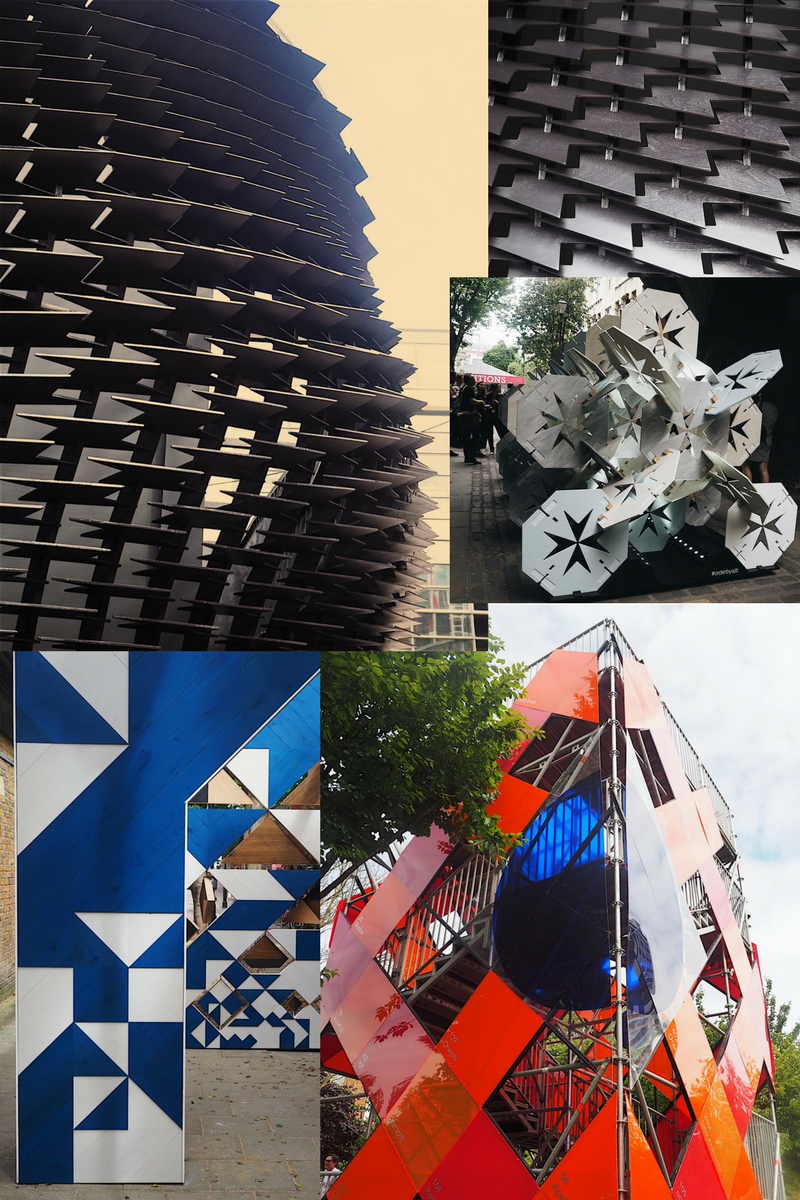 Clerkenwell Design Week also has a host of structural installations to see on the exhibition path.