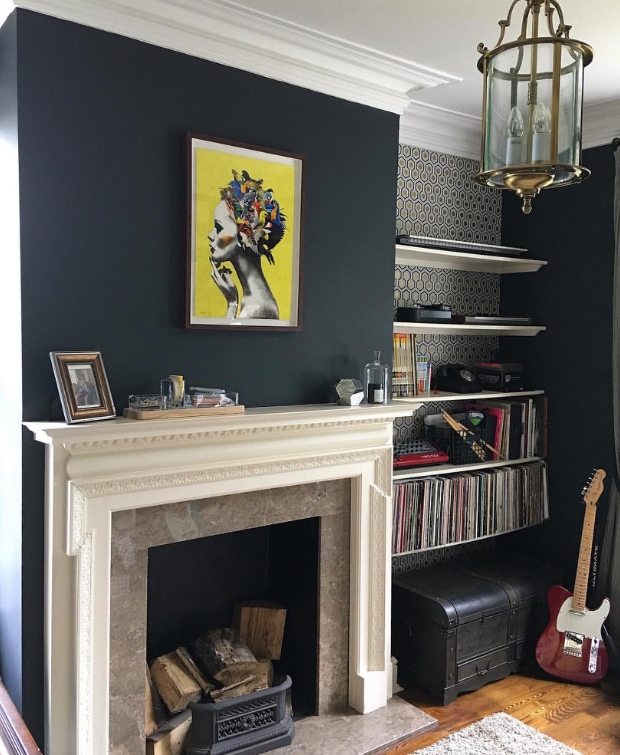 Farrow And Ball Railings Paint should i paint my walls dark? the pros and cons of dark