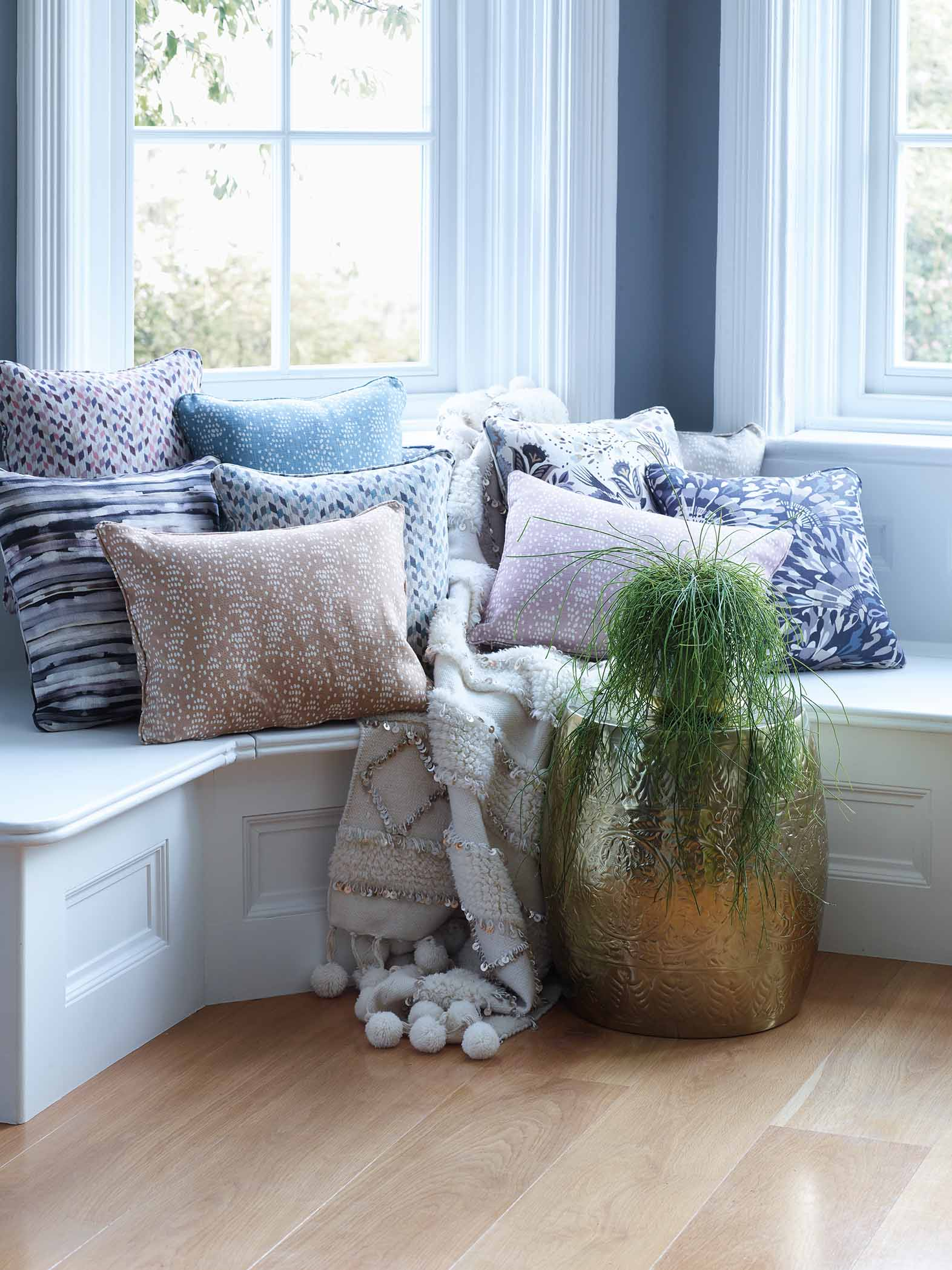 The scatter cushion collection. Image credit: Multiyork.