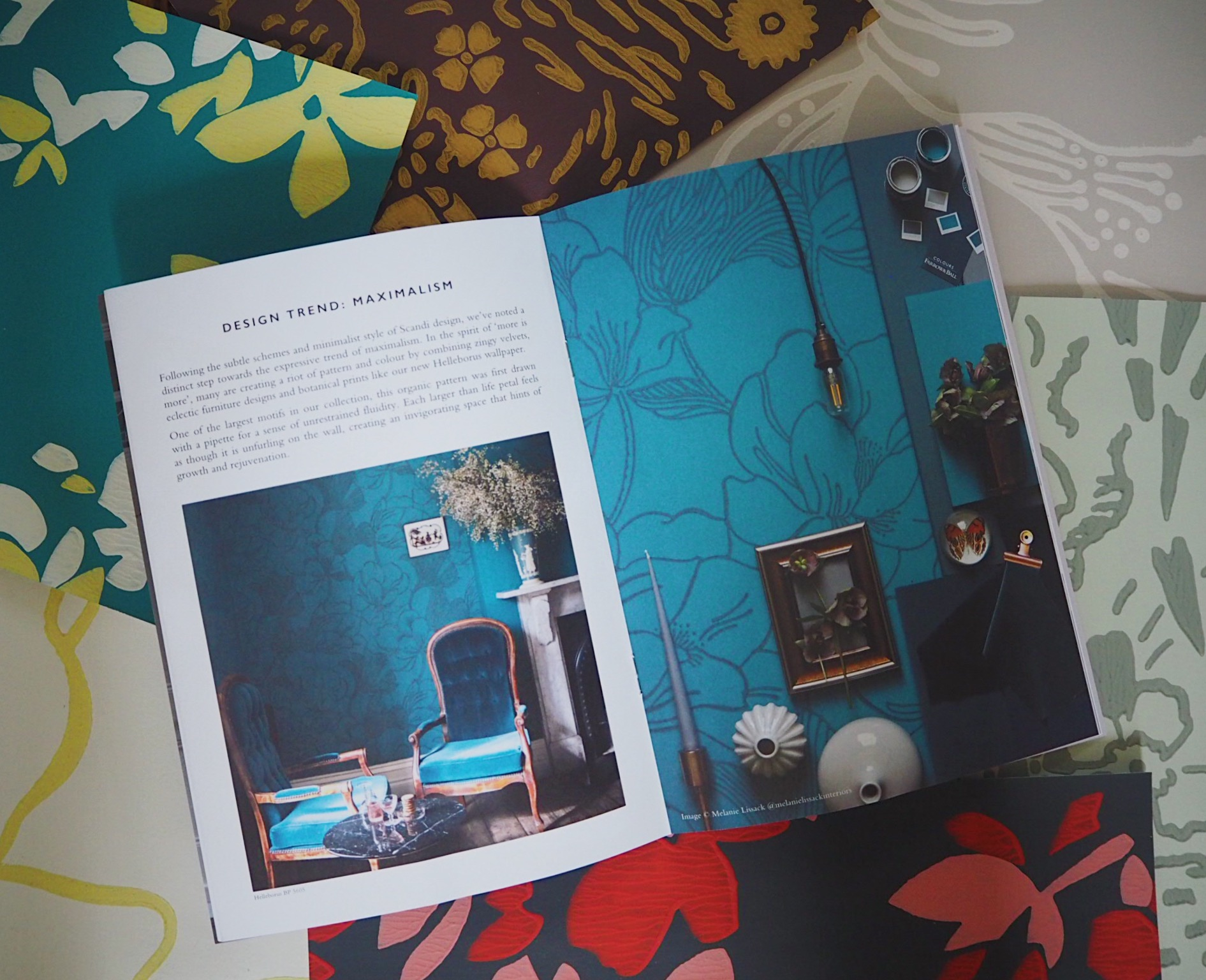 The New Farrow Ball Floral Wallpaper Collection I M In